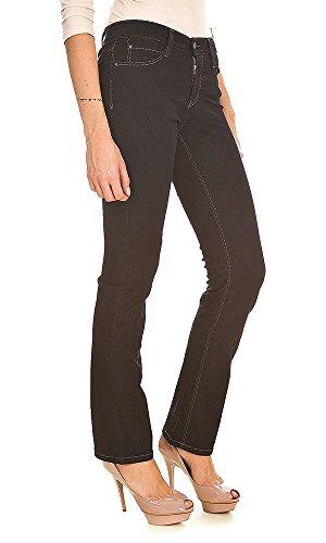 Jeans 1 Dream 0355L MAC Straight Black Womens EtfxqXqO