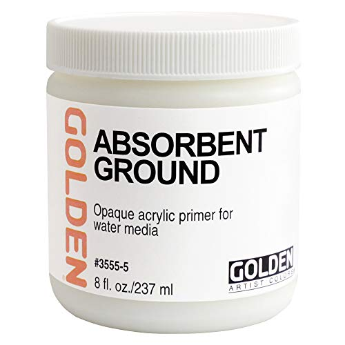 Absorbent Ground - Golden Absorbent Ground 8-Ounce (0003555-5)