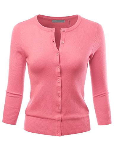 LALABEE Womens Crewneck Sweater Cardigan