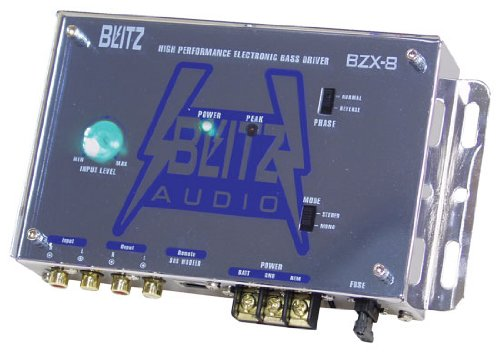 Blitz Audio BZX8 High Performance Electronic Crossover Bass Driver Network