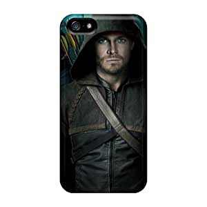 JohnPrimeauMaurice Iphone 5/5s Protector Hard Cell-phone Cases Unique Design Trendy Green Arrow Pictures [DtJ5603DjUP]