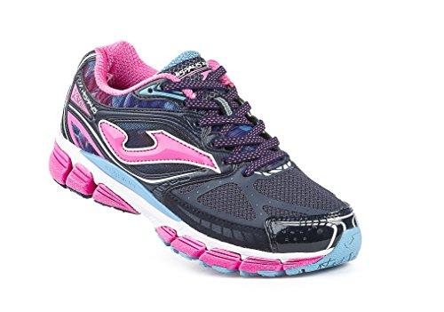 Joma R.hispalis Lady 603 Marino-fucsia - Zapatillas para correr Mujer MARINO