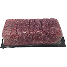 Ground Bison - 100% Ground 80% Lean: 100% All-Natural, Grass-Fed North American Buffalo Meat with no Growth Hormones or Antibiotics - USDA Tested Count 2-5 Lbs. Chub