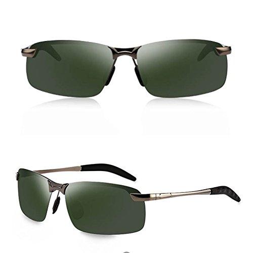 Color 4 de Sol Masculinas Gafas Nuevo DT Driver 3 de Mirror Driving Sol Gafas Polarizing Estilo TOqwWAxZ