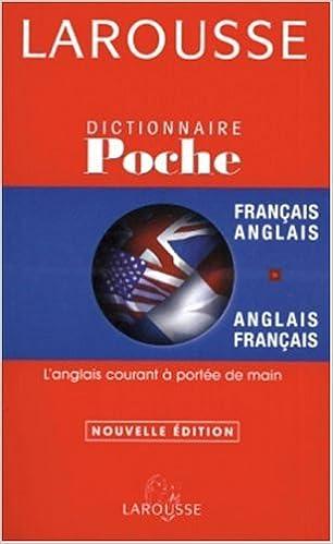 Amazon Fr Dictionnaire De Poche Francais Anglais Anglais