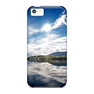 First-class Cases Covers For Iphone 5c Dual Protection Covers Sunny Lake