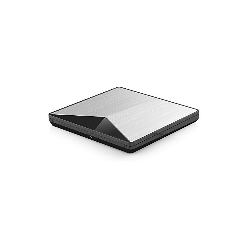 External CD DVD Drive, VersionTECH. USB 3.0 Upgraded Portable Ultra-Slim CD DVD +/-RW ROM Superdrive Driver/Writer/Burner/High Speed Data Transfer for Apple Mac MacBook Pro Air iMac Laptop