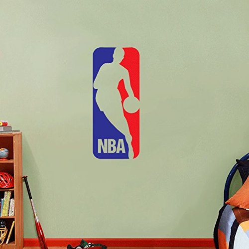 Cheap  NBA Logo Basketball USA Sport Art Wall Decor Sticker 25
