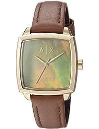 Armani Exchange Women's Dress Brown Leather Watch AX5451