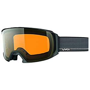 Uvex Craxx OTG Performance Over Glasses Laser Gold Lite Double No-Fog Lens Goggle, Grey, Large