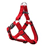 KRUZ PET KZA201-14L Fully Adjustable Step-in Puffy Mesh Harness, Large