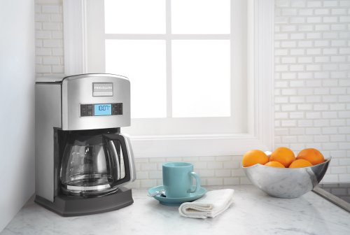 Frigidaire Coffee Maker With Grinder : Frigidaire Professional Stainless Programmable 12-Cup Drip Coffee Maker Coffee Store