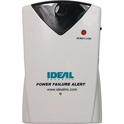 Ideal Security Inc. SK640 Wireless Power Failure Sensor with 90 DB Alarm