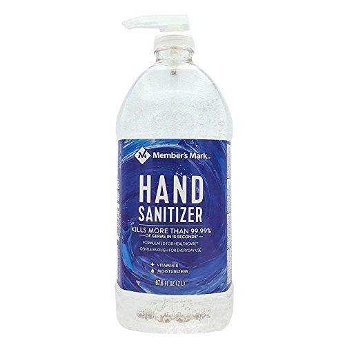 Members Mark Hand Sanitizer 67.6 FL OZ (2 L)