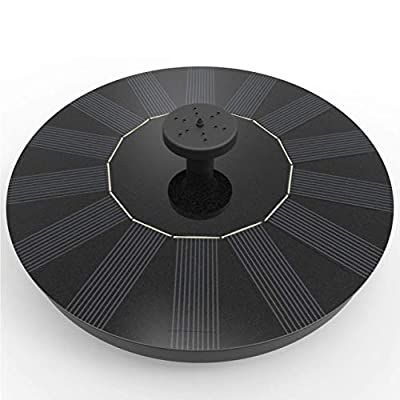 Solar Fountain, Black