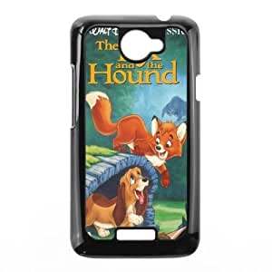 Personalized Durable Cases HTC One X Phone Case Black Cpokx The Fox and the Hound Protection Cover