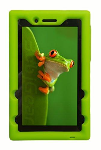 BobjGear Bobj Rugged Case for Lenovo Tab 3 7 Essential, TB3-710F, TB3-710I, (NOT FOR Tab 7 Essential TB-7304F or any other Lenovo model) Venting - Sound Amplification - Kid Friendly (Gotcha Green) by BobjGear