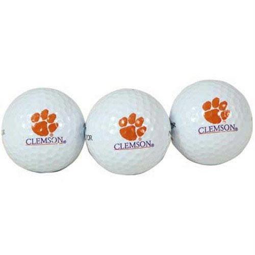 (Team Effort Clemson Tigers Golf Ball 3 Pack)