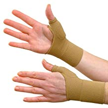 Gel Compression Brace Gloves,2 Pair Ideal Hand Wrist Support Provide Arthritis Relief From Thumb Joint Pain