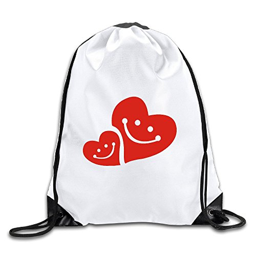 BENZIMM Smile Love Drawstring Backpacks/Bags (Draw The Titanic compare prices)