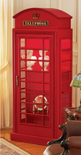Phone Booth Storage Cabinet Funky Home Decor Funkthishouse Funk