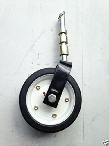Complete King Kutter Finish Mower Wheel Assembly Fits from 4' - 7' cut mowers