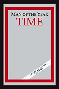 "The Big Lebowski - Time: Man Of The Year Bar Mirror (Size: 9"" x 12"")"