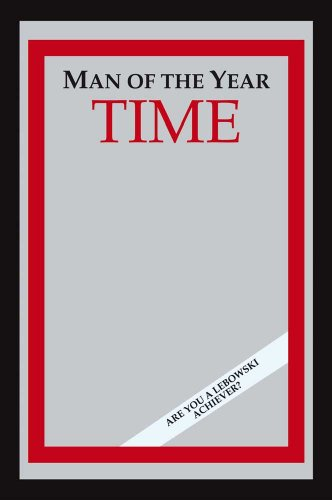The Big Lebowski - Time: Man Of The Year Bar Mirror (Size: 9