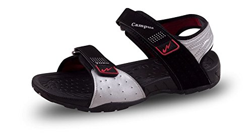 f4a06bcf7d8 Campus YORK Black Men Sandal- Size -10 UK  Buy Online at Low Prices ...