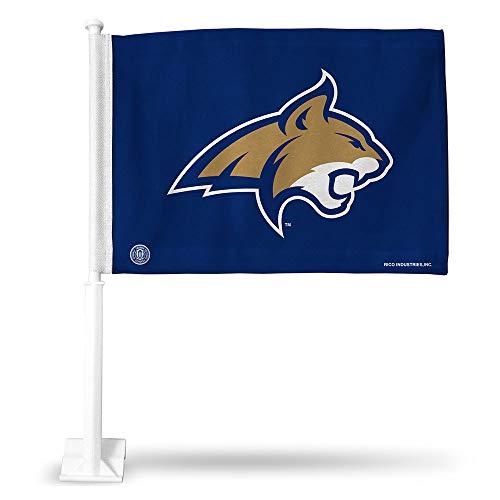 Rico NCAA Montana State Version 2 Car Flag, Logo Color, 8 x 1