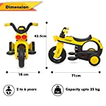 BAYBEE Cayman Battery Operated Ride on Bike for Kids/Motor Bike for Kids-Electric Bike for Kids Suitable for Boys & Girls (1-5 Years)