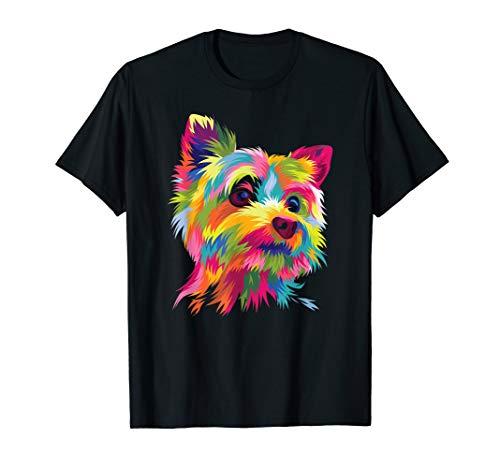 Yorkshire Terrier Shirt Funny Yorkie Pop Art Popart Dog Gift
