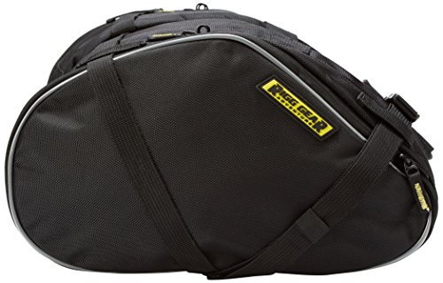 Nelson-Rigg RG-020 Black Dual Sport Motorcycle Saddlebag (Nylon Motorcycle Saddlebags)