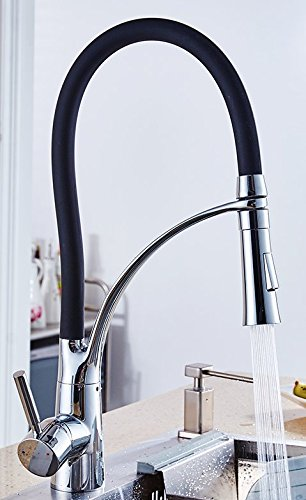 AWXJX Sink Taps Copper Kitchen Hot and Cold Laundry Pool Rotate Thicker by AWXJX Sink faucet