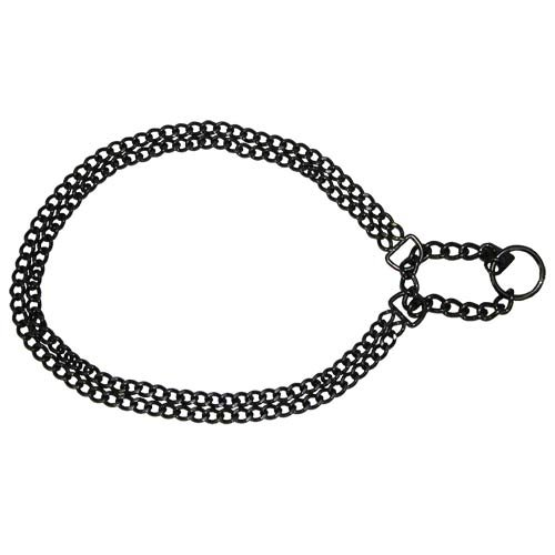 Herm Sprenger Black Stainless Martingale 2mm x 16 inches by Herm Sprenger