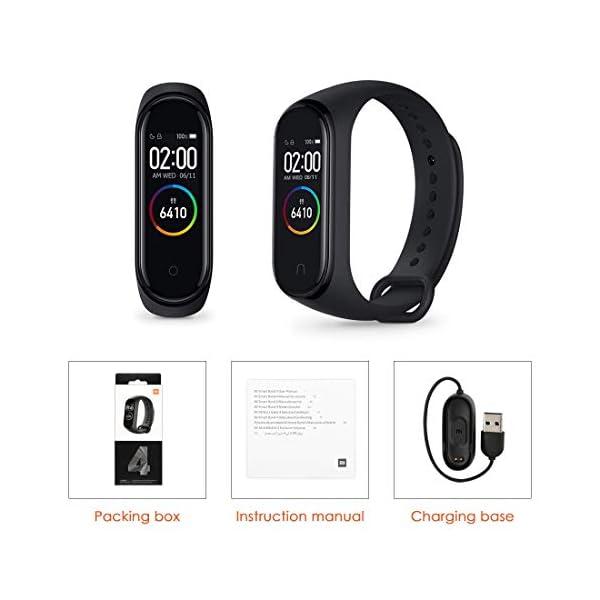 Xiaomi Mi Band 4 ,Trackers d'activité, Montre Connectée,Moniteur d'activité, Moniteur de fréquence Cardiaque, Moniteur…