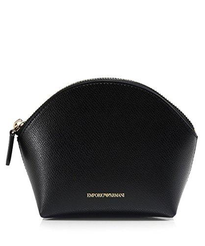 Emporio Armani Women's Beauty Bag Trio Black One Size by Emporio Armani
