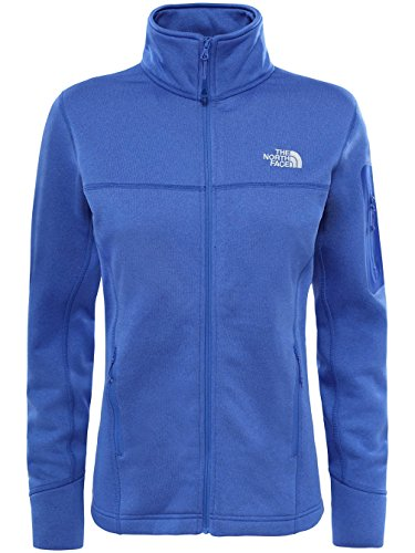 The North Face W Kyoshi Full Zip Chaqueta, Mujer azul (amparobluehther)