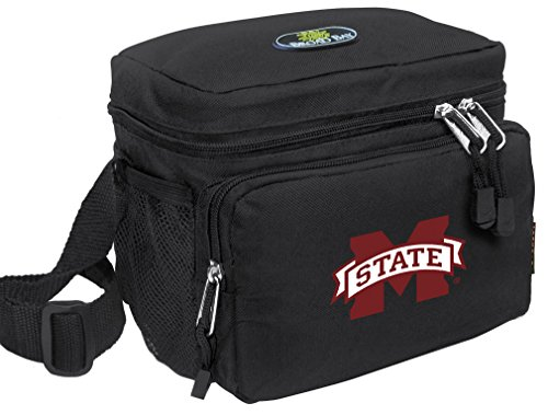 Mississippi State University Lunch Bag OFFICIAL NCAA MSU Bulldogs Lunchboxes by Broad Bay