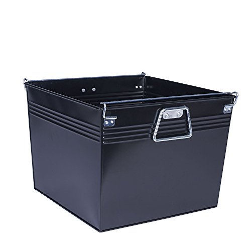 Classic Box File (Household Essentials 642 Metal File Box)