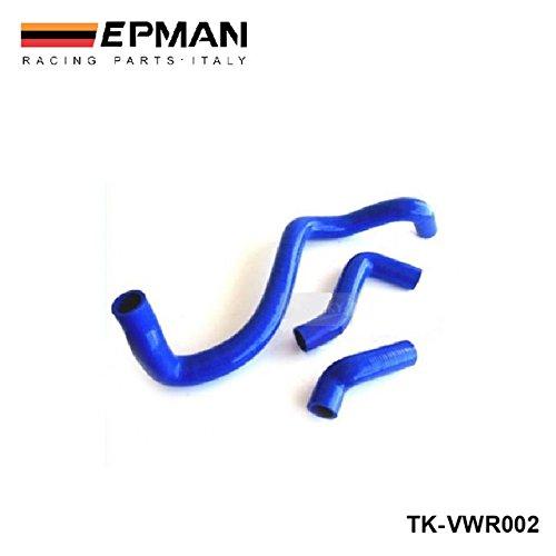 La ingesta EPMAN-silicona Intercooler inducción kit de la manguera del radiador Turbo para VW Bora / Jetta Golf IV 1.8T 99 - 05 (3pcs) TK-VWR002: Amazon.es: ...