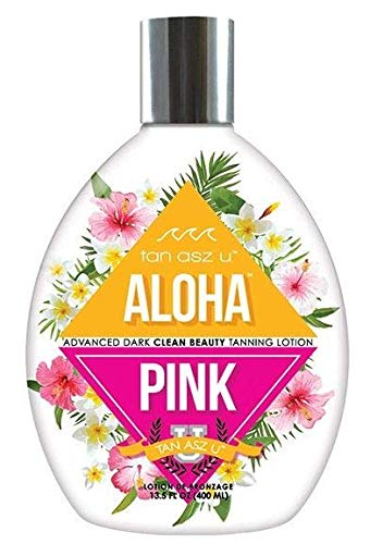 ALOHA PINK Advanced Dark Clean Beauty Tanning Lotion