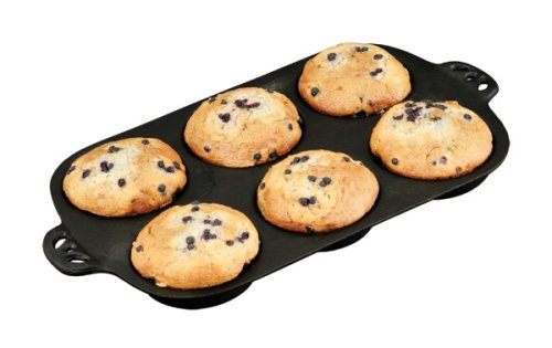 Cast Iron Muffin Toppers Biscuit Pan