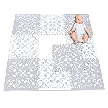 Image of Eggyo Premium Stylish Foam Baby Mat, 72 by 72 Inches, Mix and Match Baby