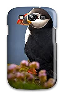 Hot 7303017K23939885 Galaxy S3 Case Cover Seabird Atlantic Puffin Case - Eco-friendly Packaging