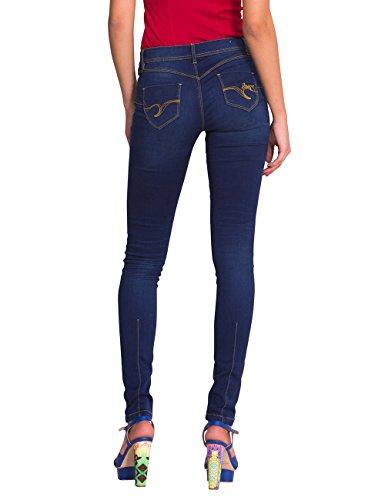 Dark Desigual Femme Jeans Dark Denim 5008 Blue Denim Bleu Wash xWxpH0nZ