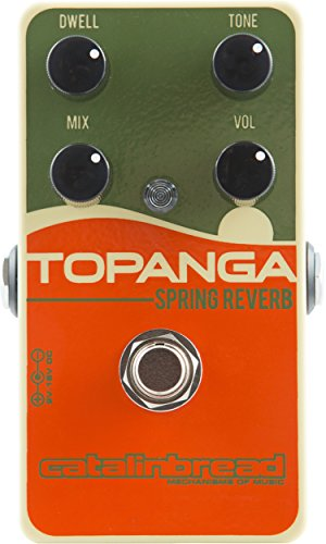 - Catalinbread Topanga Spring Reverb Guitar Effects Pedal