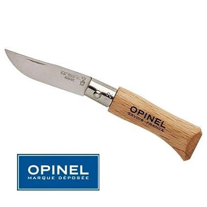 Compra Opinel No. 2 cuchillo con hoja de acero inoxidable ...