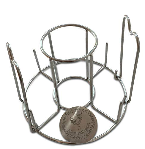 Debbiedoo's Home Pressure Cooking Beer Can Chicken Holder Rack for Use with Instant Pot,Grill Or Oven