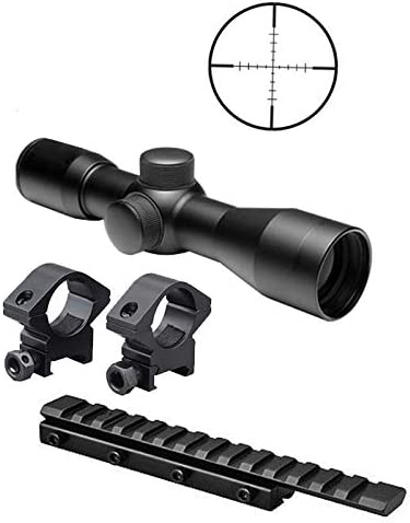 Rings For Henry 22 Lever Action Carbine Tactical 3-9x40 illuminated Scope